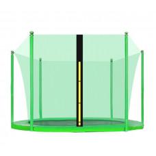 AGA belső védőháló 305 cm átmérőjű trambulinhoz 6 rudas - Világos zöld Előnézet