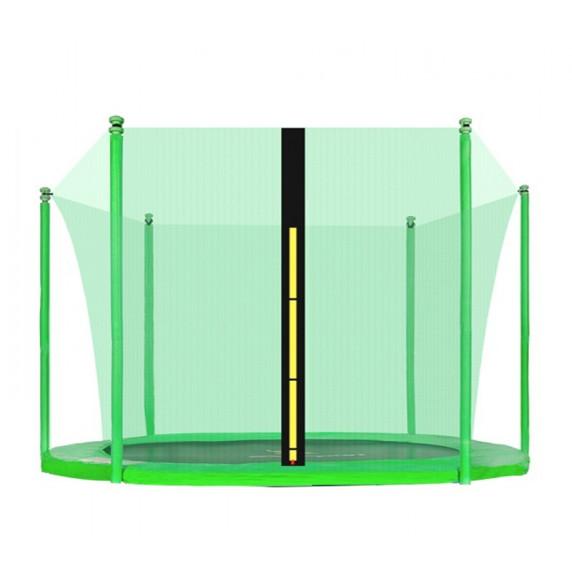 AGA belső védőháló 305 cm átmérőjű trambulinhoz 6 rudas - Világos zöld