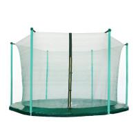 Belső védőháló 250 cm átmérőjű trambulinhoz 6 rudas AGA - Sötét zöld