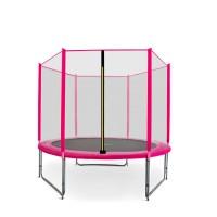 AGA SPORT PRO 180 cm trambulin - Rózsaszín
