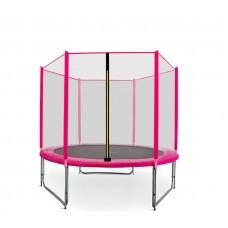 AGA SPORT PRO 180 cm trambulin - Rózsaszín Előnézet
