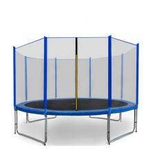 AGA SPORT PRO 366 cm Blue trambulin védőhálóval 2018 Előnézet