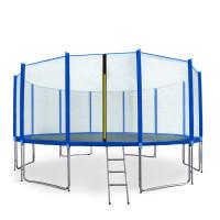 AGA SPORT PRO 500 cm trambulin + létra és cipőzsák - Kék
