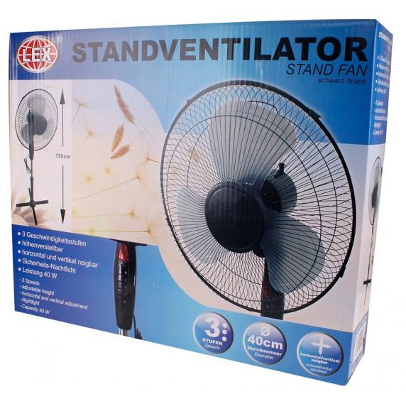 Álló ventilátor LEX YW522225 - fekete
