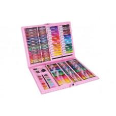 Rajz- és festőkészlet 168 darabos Aga4Kids - rózsaszín Előnézet