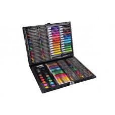 Rajz- és festőkészlet 168 darabos Aga4Kids - fekete Előnézet