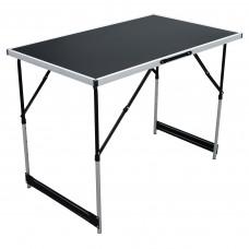 Multifunkciós kemping asztal 100x60x73/80/87/94 cm Linder Exclusiv MC330879 Előnézet