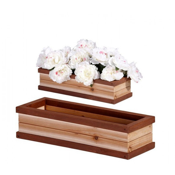 AXI virágtartó FLOWER BOX Brown