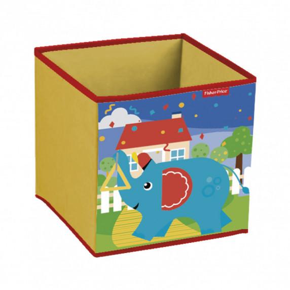 Játéktároló doboz Fisher Price - Elefánt