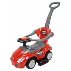 Baby Mix 3 az 1-ben gyerekjármű - piros Előnézet