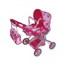 Baby Mix játék babakocsi - rózsaszín Előnézet