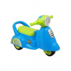 Baby Mix Scooter lábbal hajtós kismotor - kék Előnézet