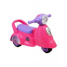Baby Mix Scooter lábbal hajtós kismotor - pink Előnézet