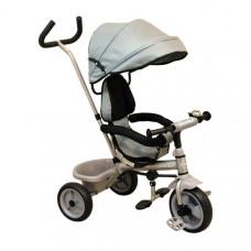 Baby Mix tricikli Ecotrike - szürke Előnézet