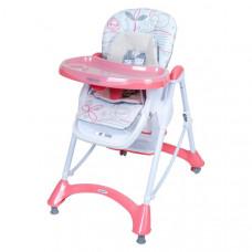 Baby Mix etetőszék - rózsaszín Előnézet