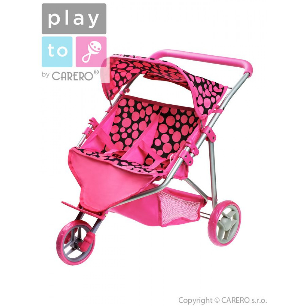 PLAY TO Klaudia játék iker sportbabakocsi ... fbbc794964