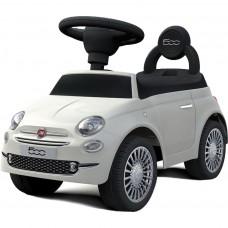 Baby Mix Fiat 500 lábbal hajtós kisautó - fehér Előnézet
