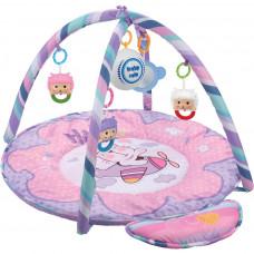 BABY MIX játszószőnyeg - rózsaszín Előnézet