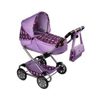 Játék babakocsi NEW BABY Andrea - lila