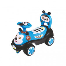 Baby Mix Happy Bee lábbal hajtós gyerekjármű - kék Előnézet