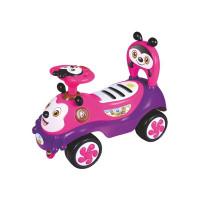 Baby Mix Happy Bee lábbal hajtós gyerekjármű - rózsaszín