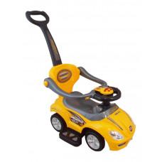Baby Mix 3 az 1-ben gyerekjármű - sárga Előnézet