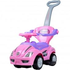 Bayo Mega Car 3 az 1-ben gyerekjármű- rózsaszín Előnézet