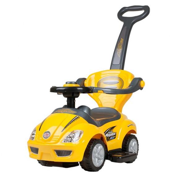Bayo Mega Car 3 az 1-ben gyerekjármű- sárga