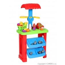BAYO játék piaci stand + 44 kiegészítő Előnézet
