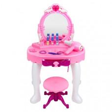 BAYO szépítkező asztal székkel + kiegészítők Előnézet