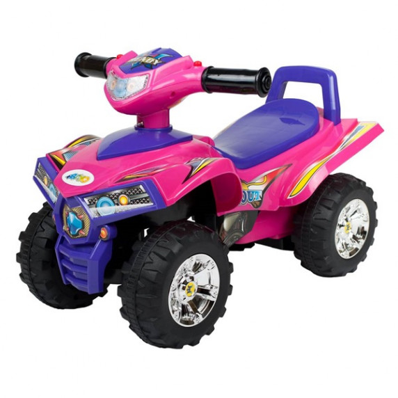 Bayo lábbal hajthatós quad - pink