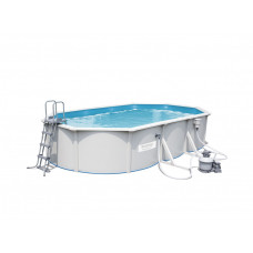 BESTWAY 56369 Hydrium merevfalú medence homokszűrővel 610 x 360 x 120 cm Előnézet