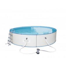 BESTWAY 56386 Hydrium 460x90 cm medence vízforgatóval Előnézet