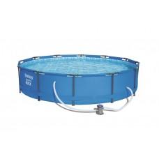 BESTWAY 56416 Steel Pro Max 366x76 cm medence vízforgatóval  Előnézet