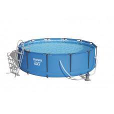 BESTWAY 56418 Steel Pro Max 366x100 cm medence vízforgatóval  Előnézet