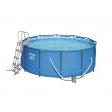 BESTWAY 56420 Steel Pro Max 366x122 m medence vízforgatóval  Előnézet