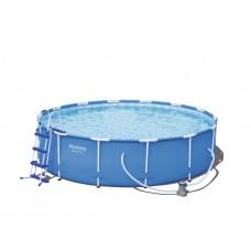 BESTWAY 56422 Steel Pro 427x100 cm medence vízforgatóval  Előnézet