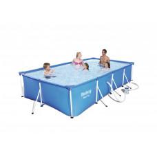 BESTWAY 56424 Steel Pro 400x211x81 cm medence vízforgatóval  Előnézet