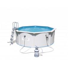 BESTWAY 56574 Hydrium merevfalú medence homokszűrővel 360 x 120 cm Előnézet