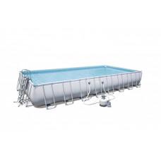 BESTWAY 56623 Power Steel 956x488x132 cm medence homokszűrővel  Előnézet
