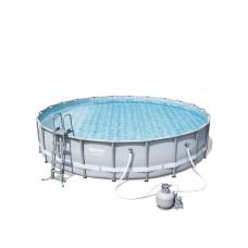 BESTWAY 56634 Power Steel fémvázas medence homokszűrővel 671 x 132 cm Előnézet