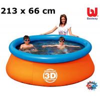BESTWAY 57244 3D Adventure medence 213x66 cm