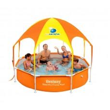 BESTWAY 56432 Splash in Shade 244x51 cm családi medence 1cf9a92950