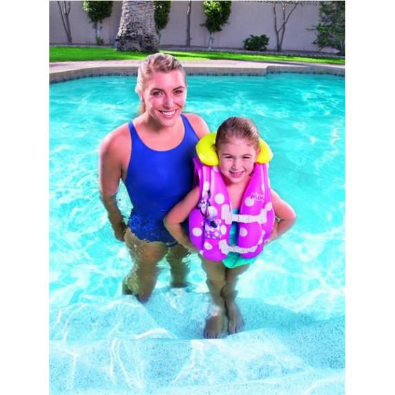 Felfújható úszómellény gyerekeknek Minnie BESTWAY 98014 51x46 cm