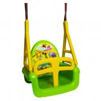 Gyerek hinta 3az1-ben TEGA Swing - Szafari zöld