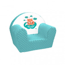 New Baby Minky Róka gyerekfotel - menta
