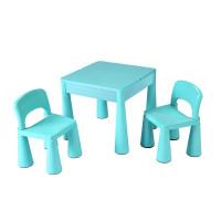 New Baby gyerekasztal székkel - világos kék