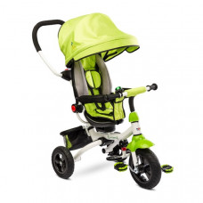 Toyz WROOM tricikli tolókarral - zöld Előnézet