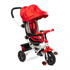 Toyz WROOM tricikli tolókarral - piros Előnézet