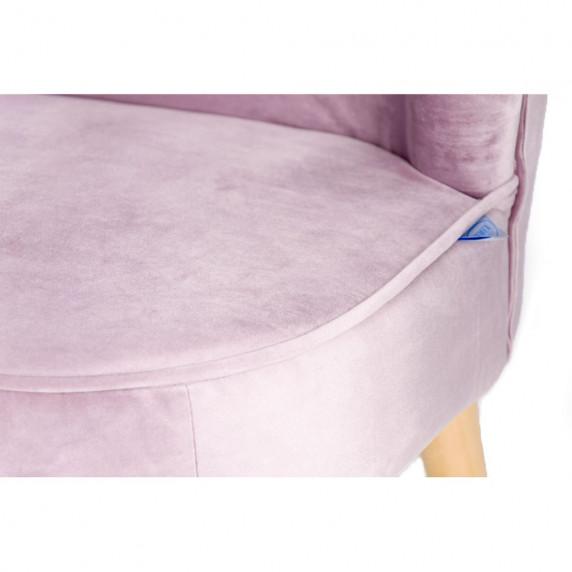 Gyerek kanapé Drewex retro - rózsaszín